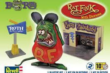 Rat Fink with diorama
