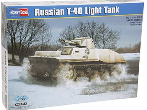 Russian T-40 light tank