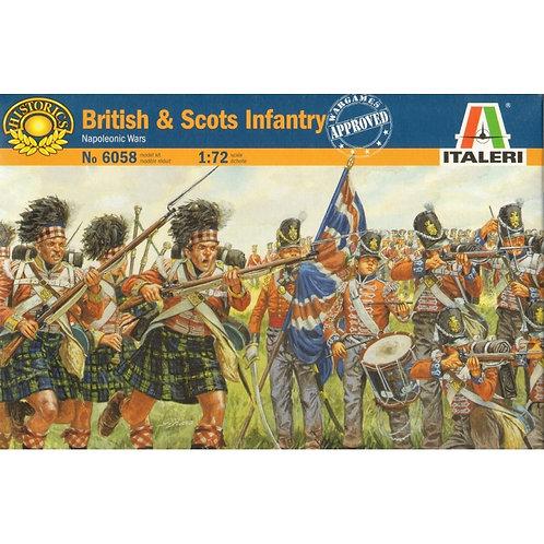 British & Scots infantry