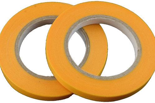 Masking tape 6mm x 18m - 2 stuks