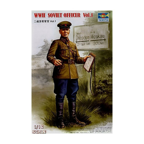 WWII Soviet officer vol. I