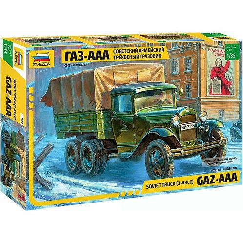 Soviet truk GAZ-AAA