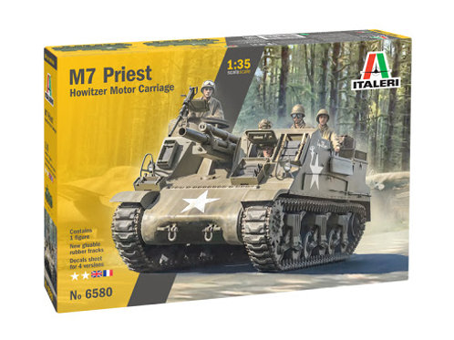M7 Priest Howitzer motor cariage