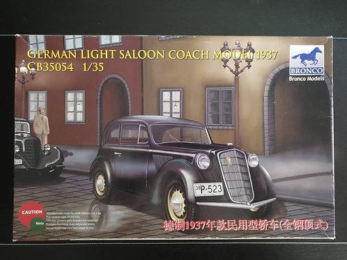 German light saloon Coach 1937