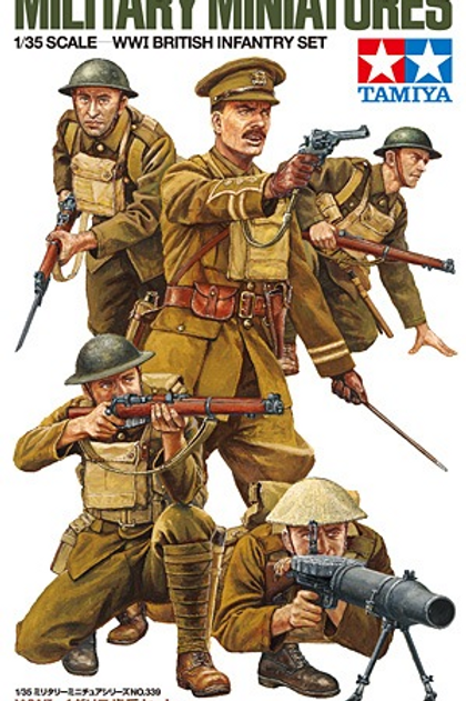 WWI British infantry set