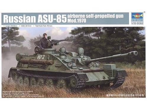 Russian ASU-85 airborne self-propelled gun Mod. 1970