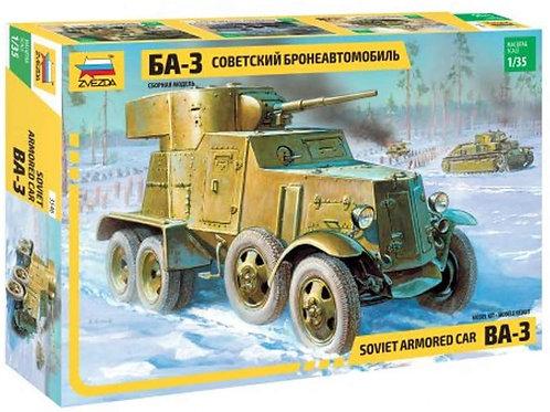Soviet armored car BA-3