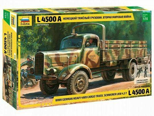 German heavy4WD cargo truck L 4500A