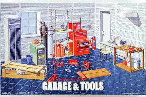 Garage & tools set