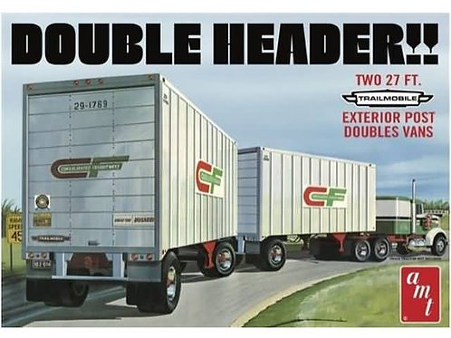 """""""Double header"""" tandem trailers"""