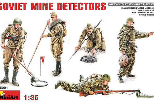 Soviet mine detectors