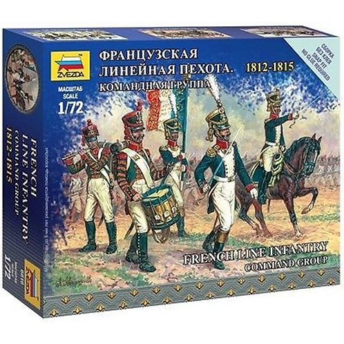 French infantry command group 1812 - 1815