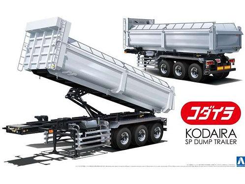 Heavy freight dump trailer