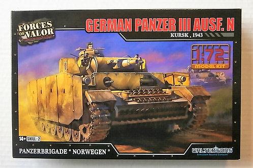 German Panzer III Ausf.N