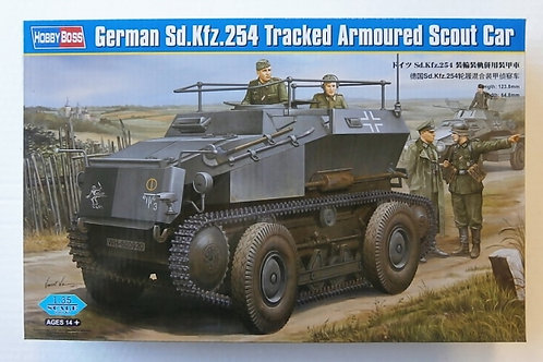 German Sd.Kfz 254 tracked armoured scout car