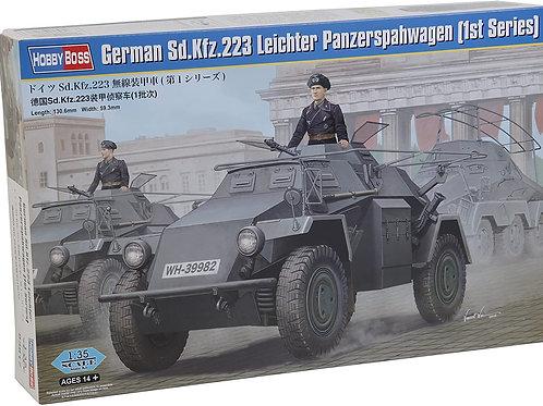 German Sd. Kfz. 223 leichter Panzerspahwag