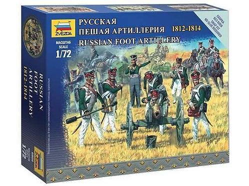 Russian foot artillery 1812 - 1814