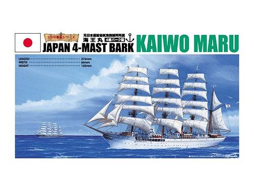 Japan 4-mast bark Kaiwo Maru