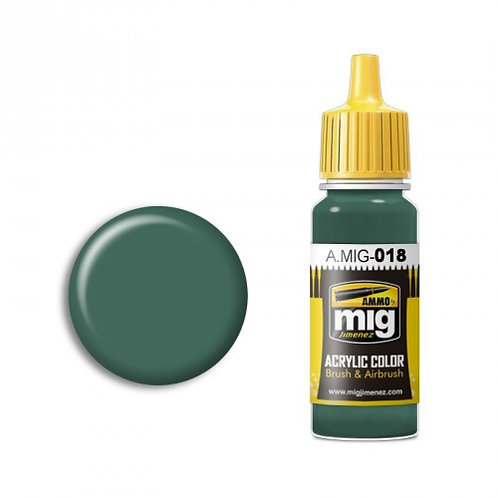 Weapon SS- police green 17ml