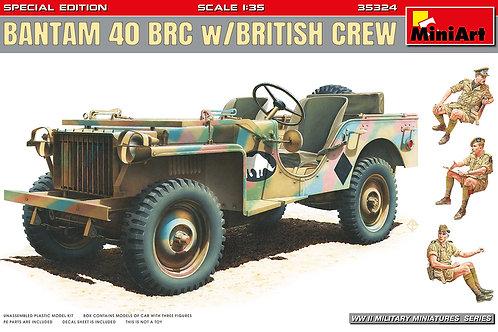 Bantam 40 BRC w/British crew