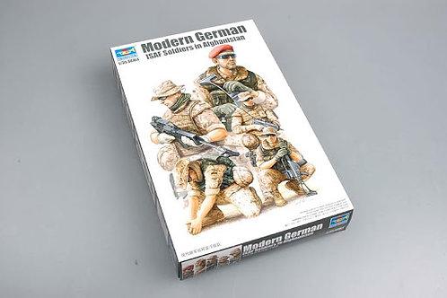 Modern German ISAF soldiers in Afghanistan
