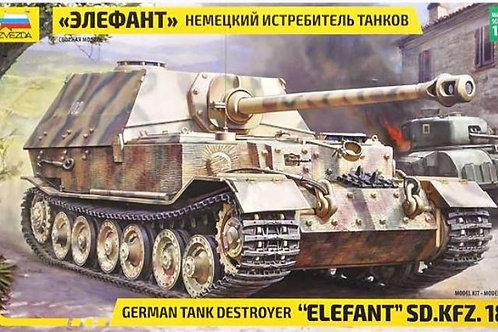 German tank destroyer 'elefant'