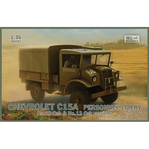 Chevrolet C15A personell lorry