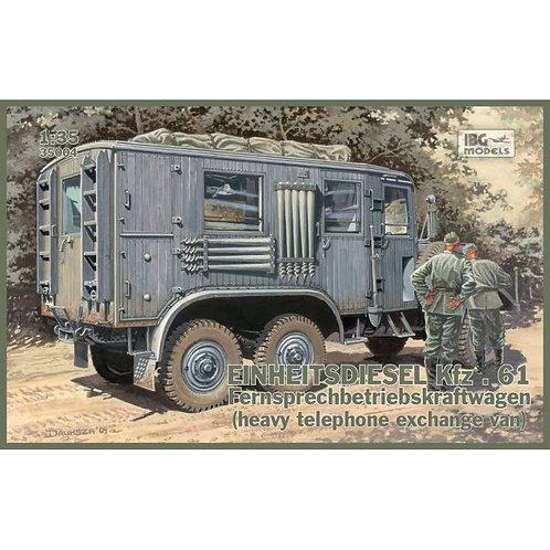 Einheitsdiesel Kfz. 61 (heavy telephone exchange van)