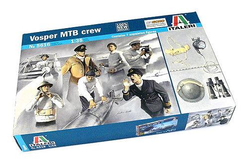 Vosper MTB crew