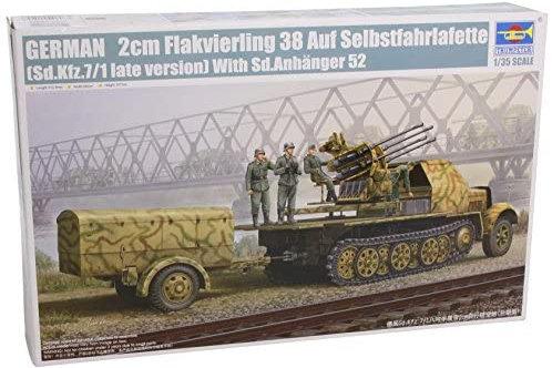 German 2cm Flakvierling 38 late version