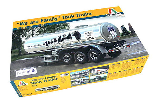 Tank trailer 'we are family'