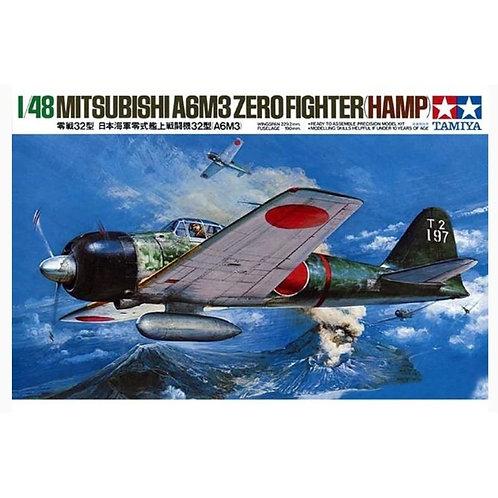 Mitsubishi A6M3 Zero fighter Hamp
