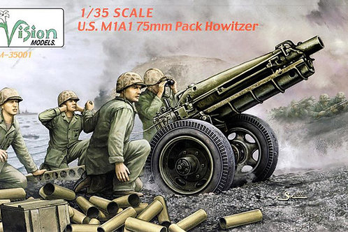 US M1A1 75mm pack howitzer