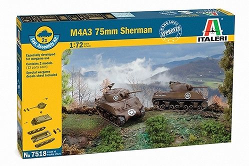 M4A3 75mm Sherman