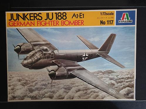 German fighter bomber Junkers JU 188