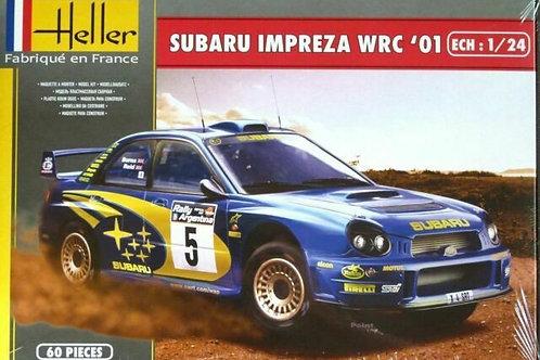 Subaru impreza WRC'01