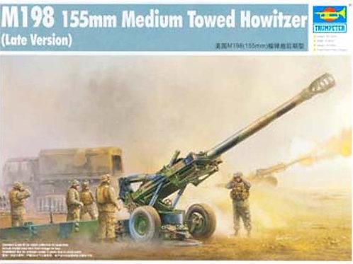 M198 155mm medium towed howitzer