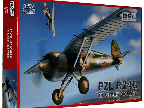 PZL P.24G in Greek service