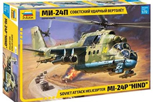 Soviet attack helicopter MI-24P