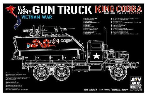 "US army  gun truck ""King Cobra"""
