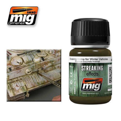 Streaking grime for winter vehicles 35ml
