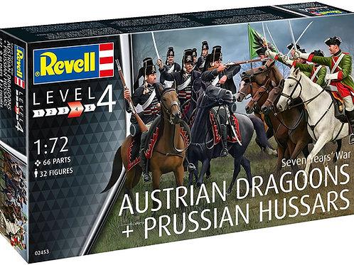 Austrian Dragoons & Prussian Hussars