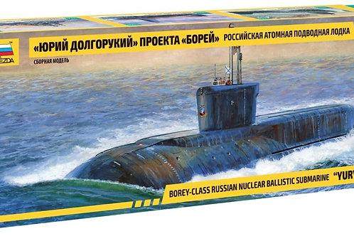 Russian nuclear submarine Yuri Dolgo