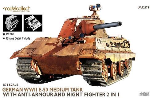 WWII E-50 German medium tank