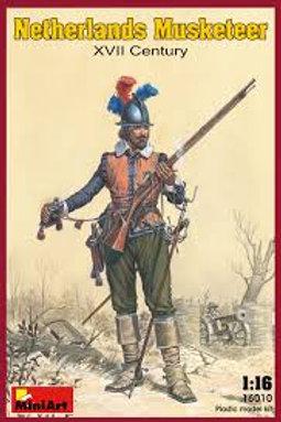 Netherlands musketeer XVII