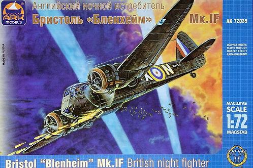 """Bristol """"Blenheim"""" Mk british night fighter"""