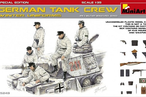 German tank crew winter uniforms