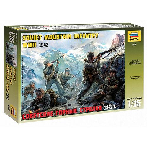Soviet mountain infantry WWII 1942