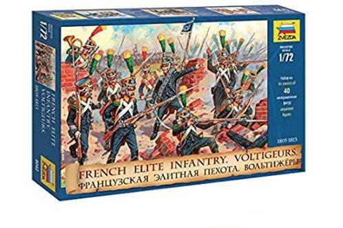French elite infantry voltigeurs