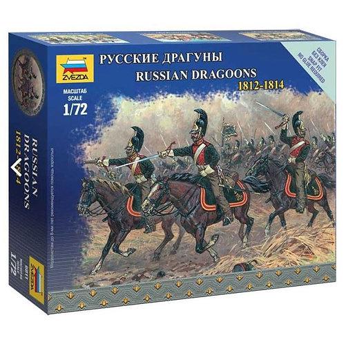 Russian dragoons 1812 - 1814